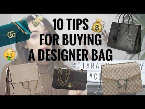 10 TIPS FOR BUYING A DESIGNER BAG | CIARA O DOHERTY