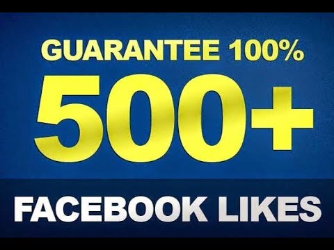 How To Get 500 Auto Likes Guranted On Fb  Full Method 100%