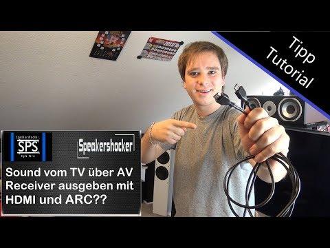 Sound vom TV über AV Reveicer ausgeben mit HDMI  Richtig Anschließen