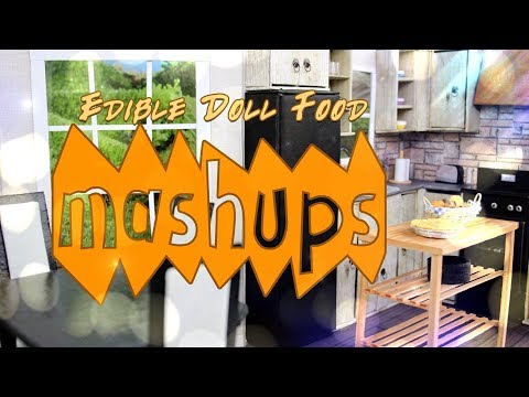 Mash Ups: Edible Doll Food | How to Make Edible Doll Cakes, Pies, Sandwiches & More