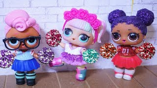 Download LOL SURPRISE DOLLS Try Out To Be Cheerleaders! Video