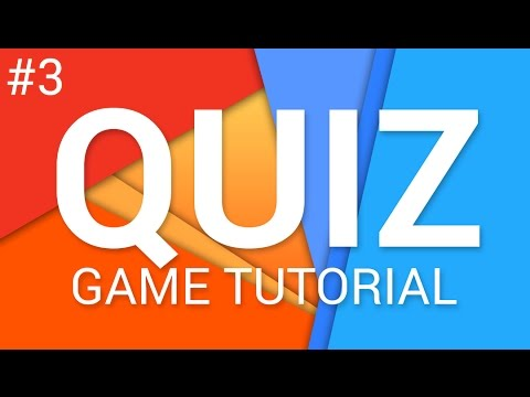 How to make a Quiz Game in Unity (E03 CORE GAME) - Tutorial