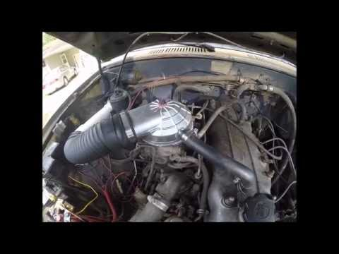 Snorkel pt.1- Weber carb hat install on Aisin 22R carb