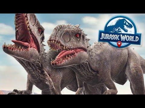 Indominus Rex Battles!!! - Jurassic World Alive | Ep11 ( Jurassic GO )
