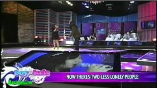 """[HD]Arnel Pineda & Charice """"Two Less Lonely People In The World"""" @ Boy & Kris Show"""