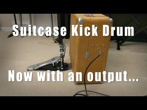 Adding An Output to my Suitcase Kick Drum