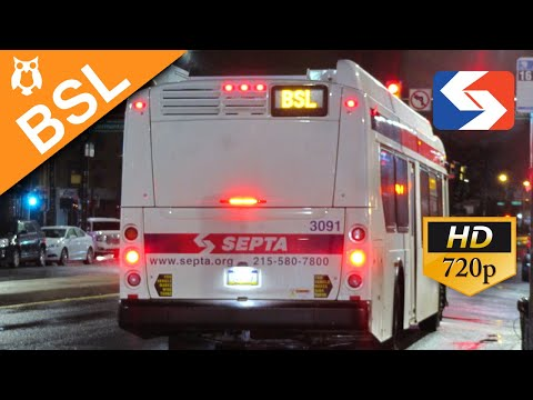 SEPTA Ride: 2018 New Flyer XDE40 #3088 on the Broad Street Owl to AT&T Station