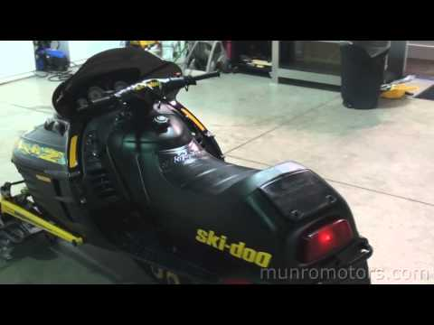 1999 Ski Doo Mach Z 800 Triple FAST!!!!! Skidoo used snowmobile SOLD Brantford, Ontario