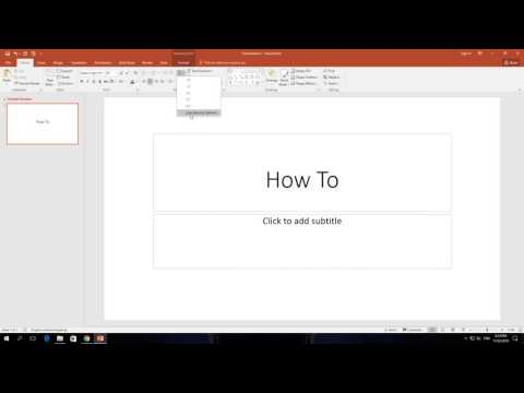 How to Change Line Spacing In PowerPoint 365