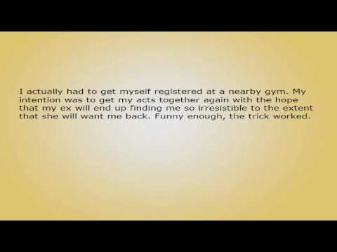 How to Get Your Ex Back After They Have Dumped You? It is FAST and EFFECTIVE!.avi