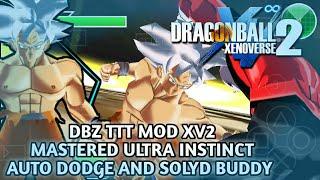 DBZ TTT MOD FIGHTERZ+RAGING BLAST TEXTURE (MUI GOKU+AUTO DODGE+
