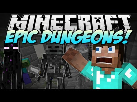 Minecraft   EPIC DUNGEONS! (RPG-Style Dungeon Systems!)   Mod Showcase [1.6.1]