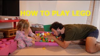 HOW TO PLAY LEGO