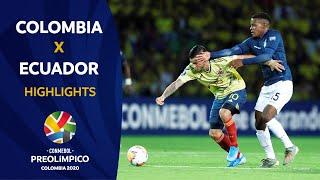 Colombia 4-0 Ecuador   Preolímpico 2020
