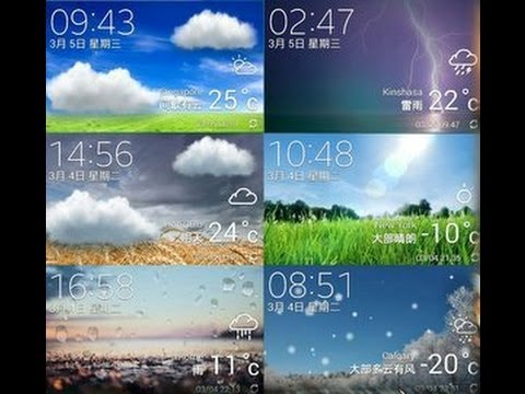 Galaxy s5 (original) weather widget for any galaxy device above 4.2.2