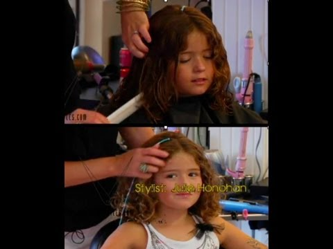 Moms- How to cut curly hair- Kids haircut