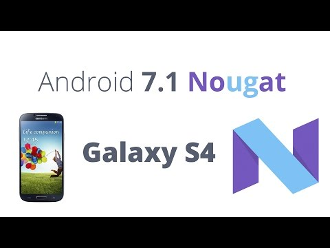 Android 7.1 on Galaxy S4 - How to Install - Tutorial