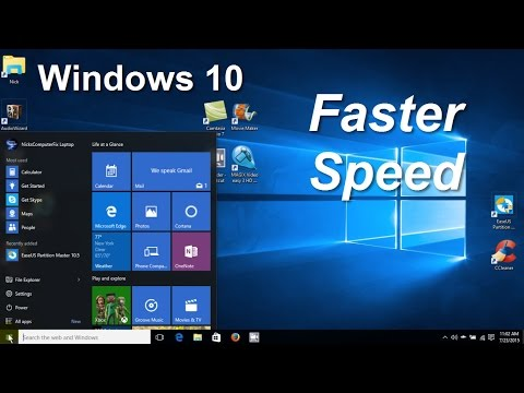 How to Speed up your Computer/PC/Laptop Windows 10 Tips & Tweaks - Faster Gaming - Free & Easy