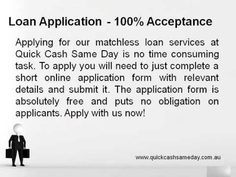 Quick Cash Same Day  Cash Loans Fast  Bad Credit Same Day Loans