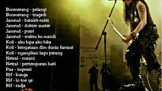 Lagu rock indonesia (band rock legend indonesia) | playlist rock song indonesia