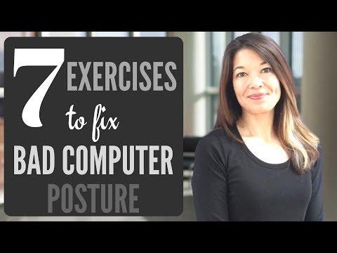 7 Exercises to Fix Bad Computer Posture