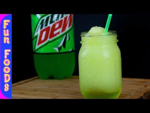 Mountain Dew Slushies | How to Make Homemade Slushies