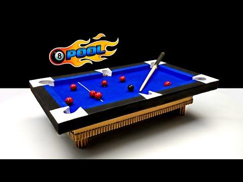 Wow! Amazing DIY 8 Ball Pool Game