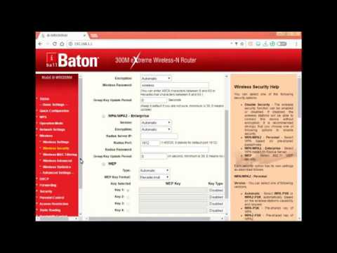(in Hindi%) iBall Baton Router WiFi IP Configuration | Hack WiFI Password %7C Change WiFi Passw