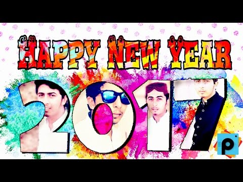 Happy New Year 2017 | Picsart Editing Tutorials - How to make Collage Photo For New Year Tuttorial