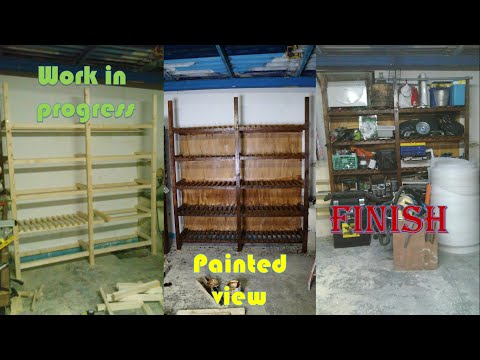 How to (Build Garage) Shelving pt.1