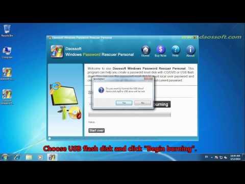 How to Change, Reset Windows XP Login Password