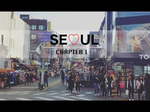 SEOUL TRIP 2016 ♥ PART 1