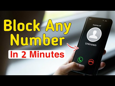 Any mobile number BLACKLIST /call blocker (safest call blocker) app in HINDI / हिंदी