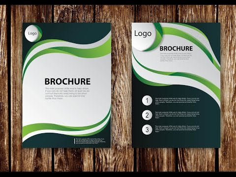 How to Design Brochure Vector Using Adobe Illustrator (PART 1)