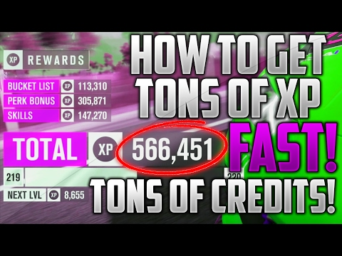 Forza Horizon 3 | How To Get XP Fast | 500k XP Every 30 Min! | Fastest Way To Get XP & Credits | FH3