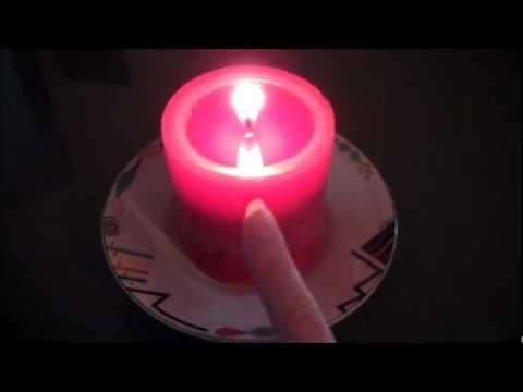 PILLAR CANDLE BURNING TIPS