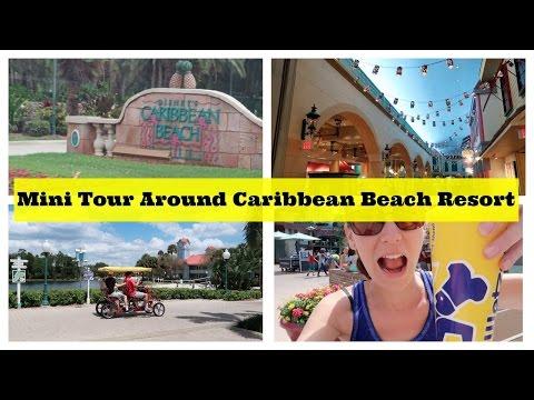 Mini Tour around Disney's Caribbean Beach Resort   l   Disney CRP