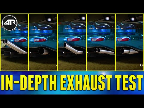 Need For Speed : In-Depth Exhaust Sound Sound Testing!!! (Need For Speed Science)
