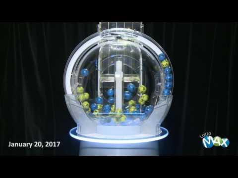 Lotto Max Draw January 20 2017
