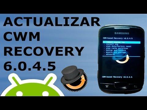 Actualizar CWM Recovery en Galaxy Mini