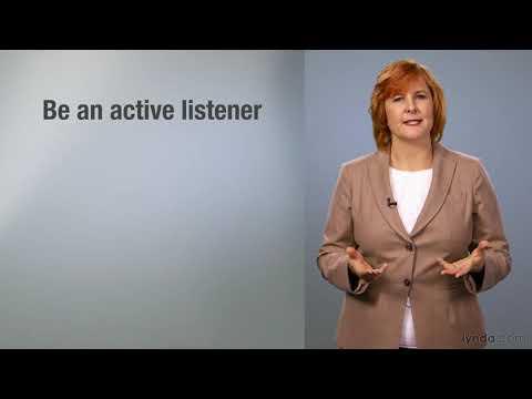Business skills tutorial: Effective communication   lynda.com