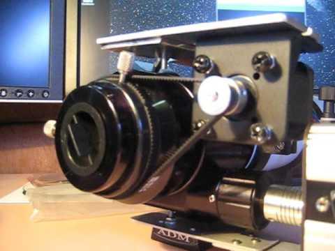 DIY telescope camera rotator