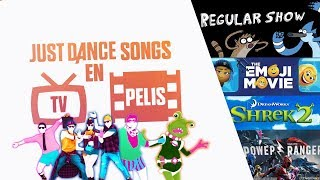 JUST DANCE SONGS IN TV SHOWS AND MOVIES!