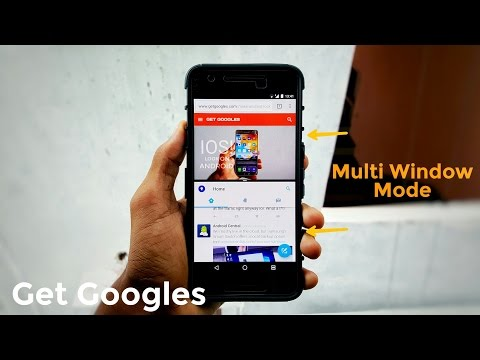 Enable Split Screen Swipe Up Gesture [Multi-Window] on Android Nougat | Nexus 6P