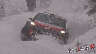 Test Monte Carlo 2018 - Kris Meeke & Craig Breen - C3 WRC - Tarmac and Snow