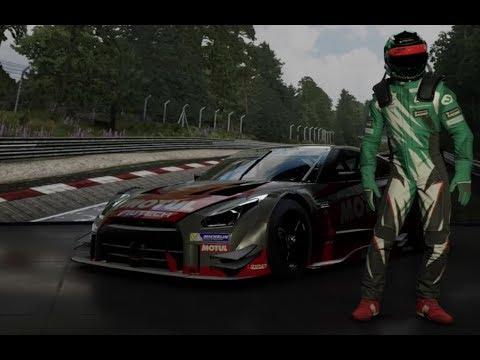 Forza Motorsport 7 Demo - Nissan GTR - Logitech G920 Manual w/clutch