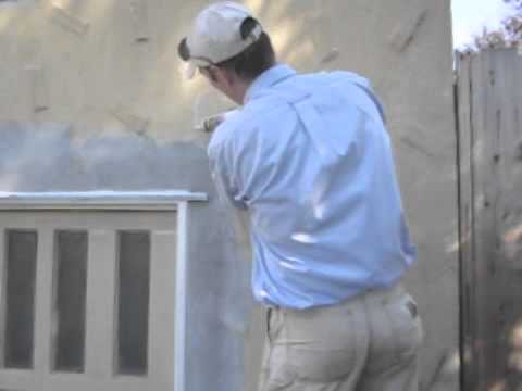 Repairing Hairline Cracks in Stucco