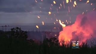 Lava Spews From 18th Fissure On Hawaii