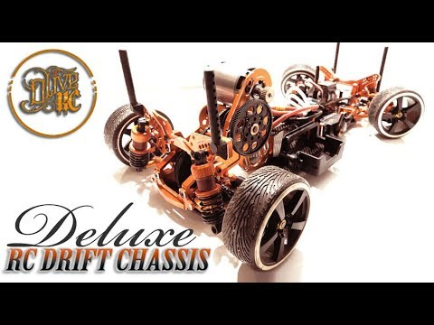 DELUXE RC DRIFT CHASSIS RWD - yeah racing SPT2-D