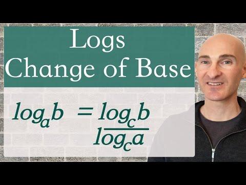 Logs Change of Base Formula